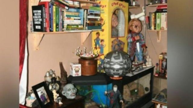 بعض شخصيات أفلام الرعب في منزل القانلين