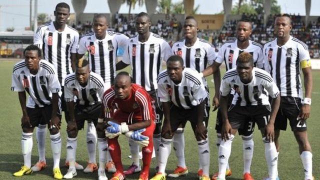 L'équipe congolaise du TP Mazembe
