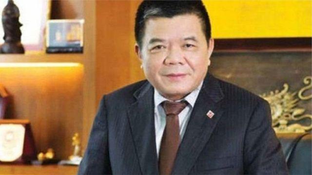 Ông Trần Bắc Hà là cựu Chủ tịch Hội đồng Quản trị ngân hàng BIDV