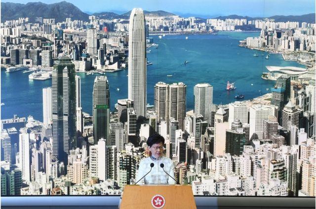 香港行政长官林郑月娥