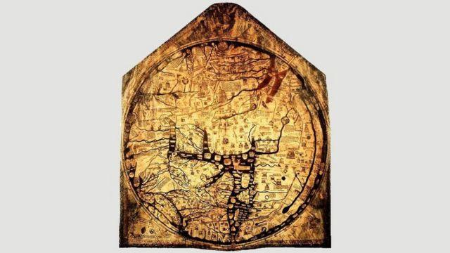 Херефордская карта мира (1300 год)