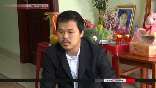 Cha của bé Linh nói ông sẽ quay lại Nhật Bản vào Chủ Nhật để gặp cảnh sát.