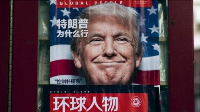 Donald Trump's election is attracting a great deal of interest in China