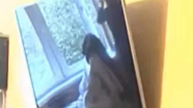 На 55-й секунде видео видно, что штор на окнах больше нет