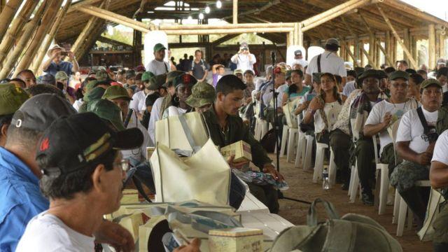 Delegados de las FARC