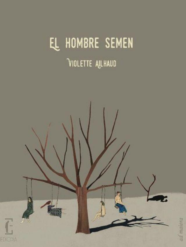 """Portada de """"El hombre semen"""""""