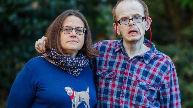 Jackie y Mark Harrison (Foto: Benjamin Paul)