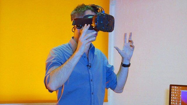 Hands on with the HTC Vive headset