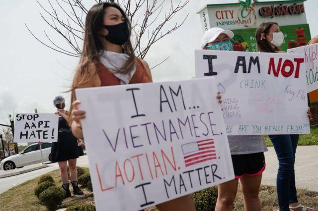 Biểu tình phản đối nạn kỳ thị thù ghét người gốc Á