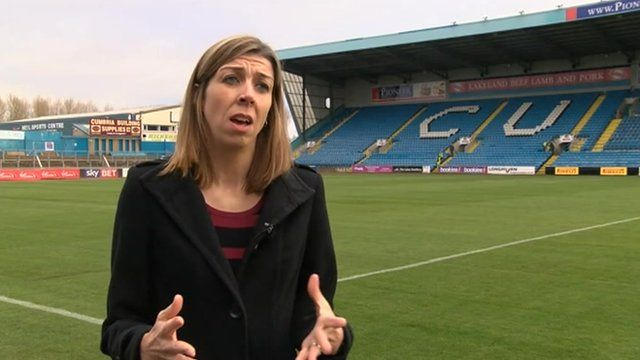 Suzanne Kidd. Carlisle United