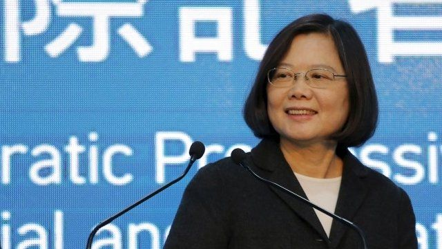 Image result for Tsai Ing-wen, bbc, pictures