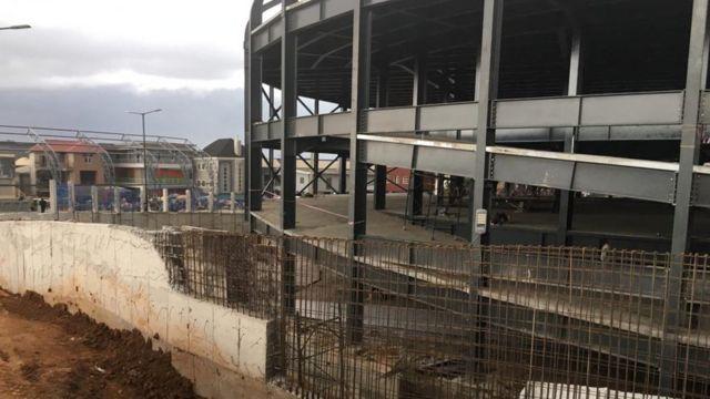 Oshodi Transport Interchange wey dey under construction