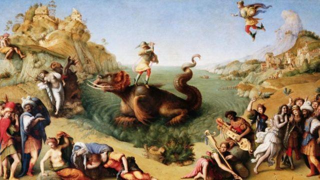 Perseus Libertando Andromeda