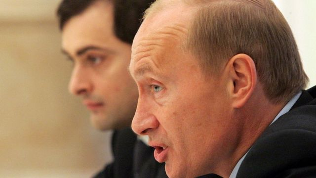 Путін та Сурков