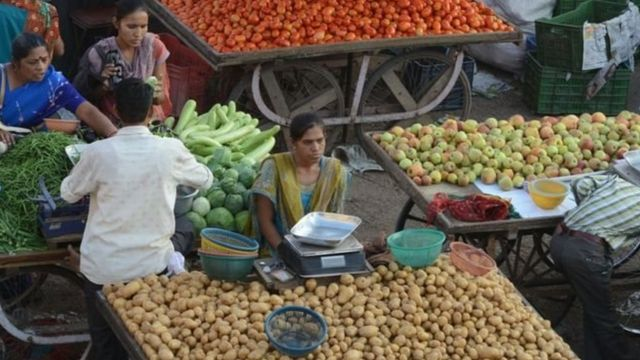 सब्जी विक्रेता