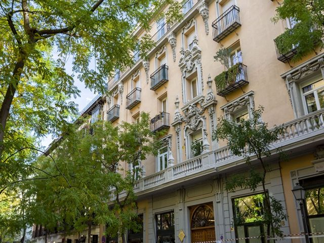Edificio en calle Lagasca, Madrid.