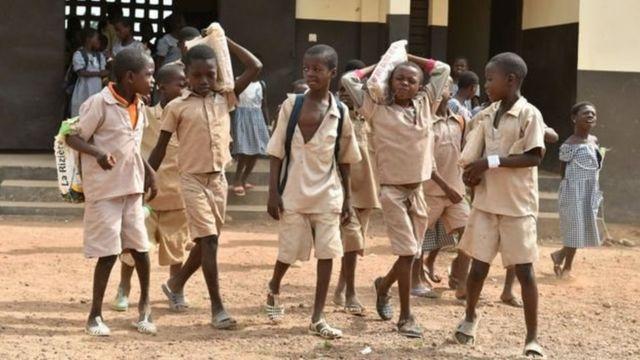 Des élèves ivoiriens