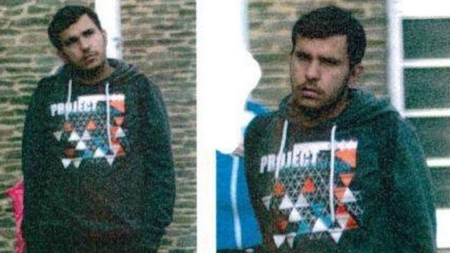 警察が強制捜査後に公表したアルバクル容疑者の写真