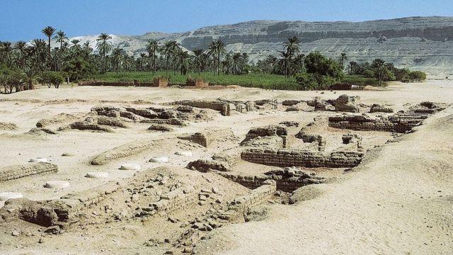 Ruinas de la ciudad.