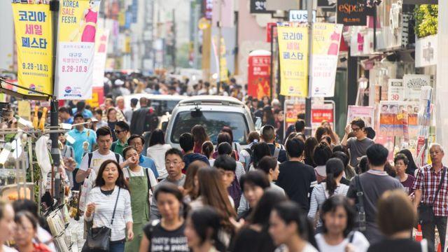 Cómo es un día en Corea del Sur usando solamente productos Samsung - BBC  News Mundo