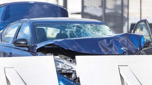 72 Officials investigate the scene after a vehicle rammed a barricade outside the US Capitol in Washington, DC, USA, 02 April 2021.