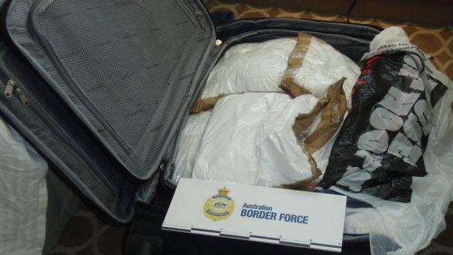 Кокаин в чемодане