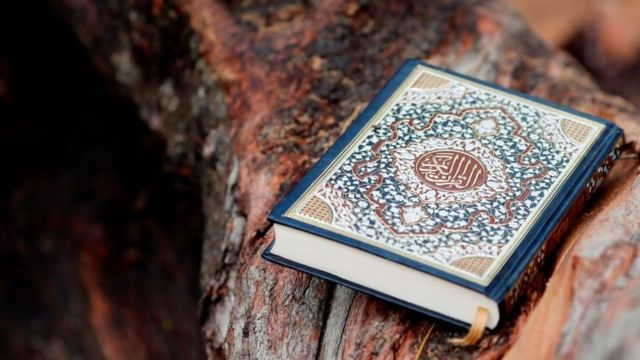 The Qur'an is the holy book of Muslims