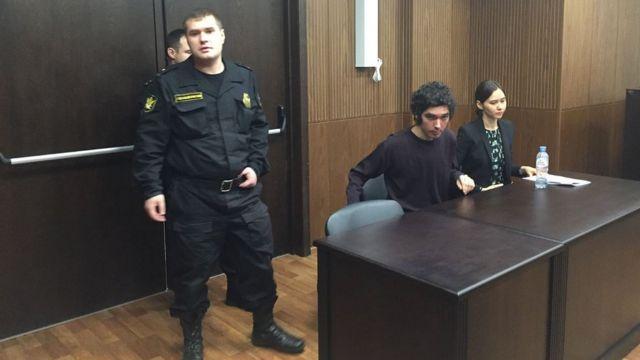 Аршак Макичян в суде