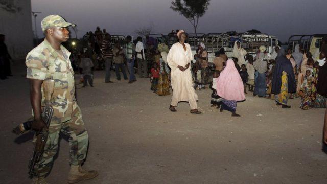 فرار ساکنان مناطق شمال نیجریه با نزدیک شدن بوکو حرام