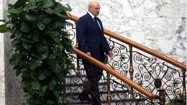 Александр Лукашенко на саммите ОДКБ в Минске, 30 ноября 2017 года