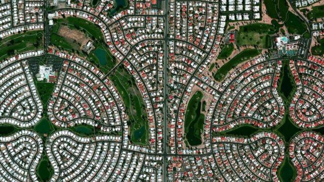 Kawasan permukiman Sun Lakes Arizona