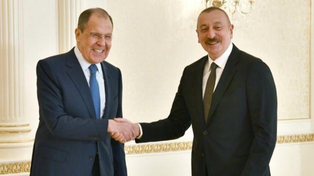 Əliyev - Lavrov görüşü