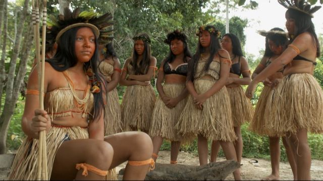 Maristela is a member of the Arara-Karo indigenous community in the Amazon rainforest