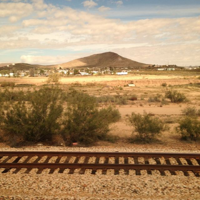 Writing - and rest - on America's rails