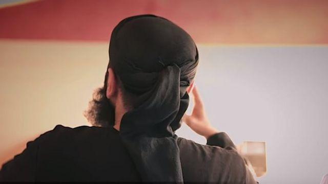 Abu Walaa-nın videodan şəkli
