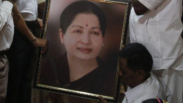 तमिलनाडु की मुख्यमंत्री जे जयललिता