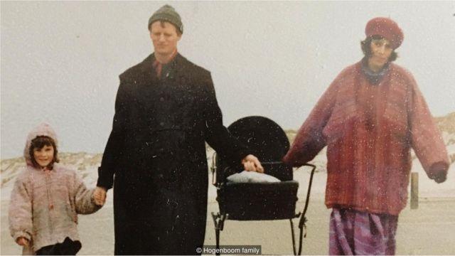 Piet y su familia. Foto: Familia Hogenboom.