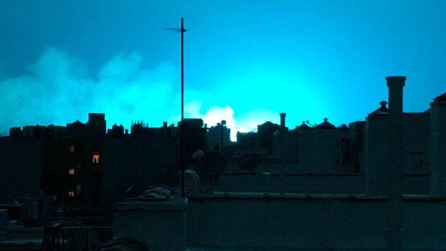Explosión en Nueva York.