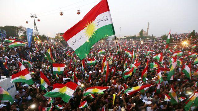 """""""لو كان الانفصال سيجلب لكردستان الخير والاستقرار لأيدته."""""""