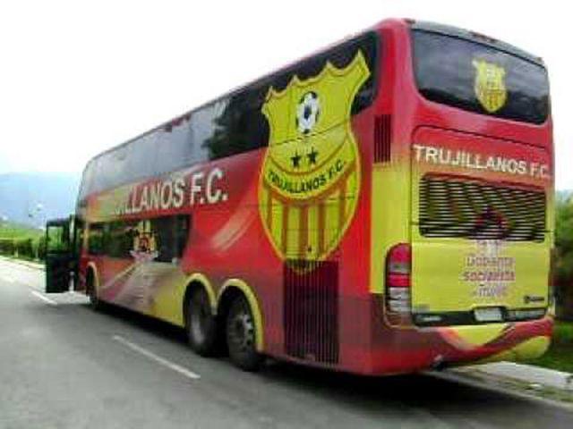 El autobús del Trujillanos