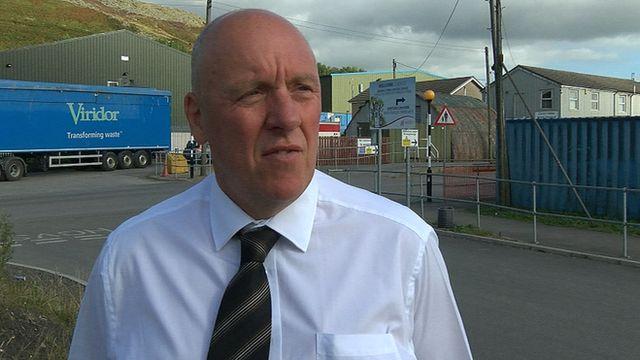 GMB union regional organiser Gareth Morgans