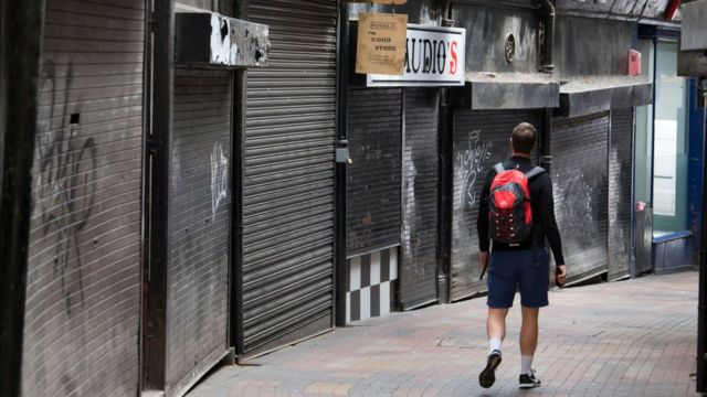 Replacing failed shops 'won't save city centres'