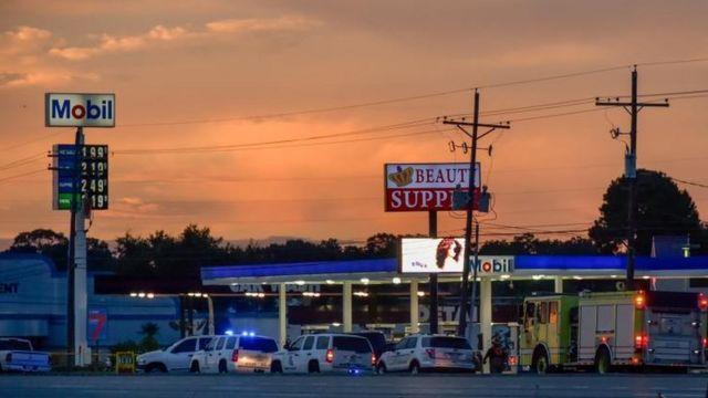 Tres policías murieron en en un ataque en Baton Rouge, Los Ángeles, el pasado domingo.