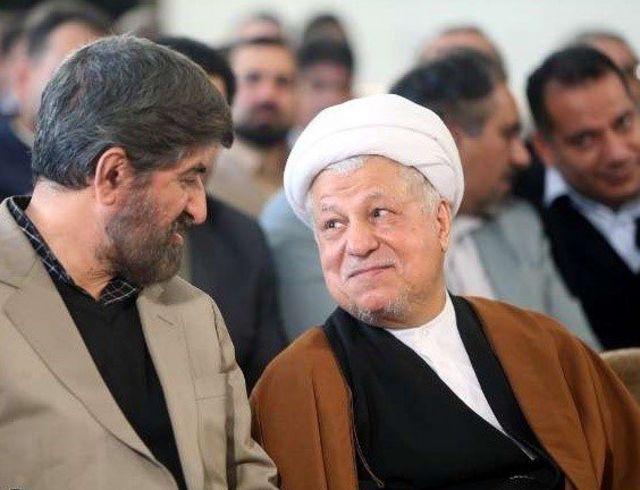 هاشمی رفسنجانی و علی مطهری
