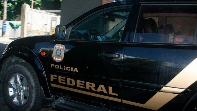Eike Batista llegando al Instituto de Medicina Legal (IML).
