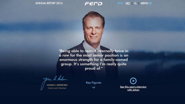 Página web de Ferd