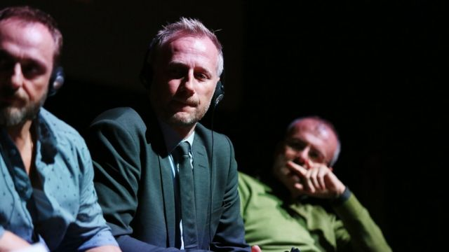 Roland Moller, Mikael Rieks y Guglielmo Marchett de Land of Mine