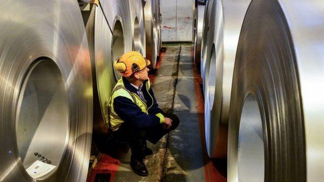 トランプ氏は米国の製鉄業者を保護することは国家安全保障の問題だと述べている