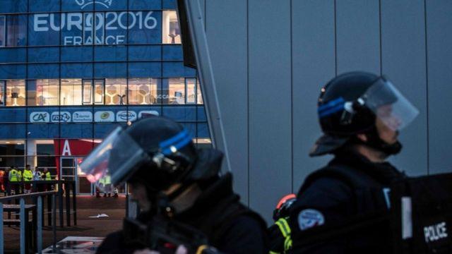 リヨンでは攻撃があったという想定で訓練が実施された