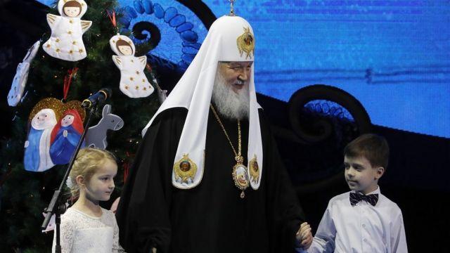 патриарх с детьми